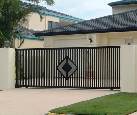 Decorative Gate Diamond Finish