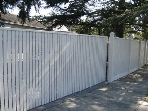 Decorative Gate and Fence Vertical Slats