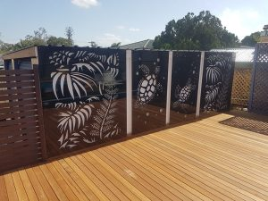 Art Panel Fence Cairns