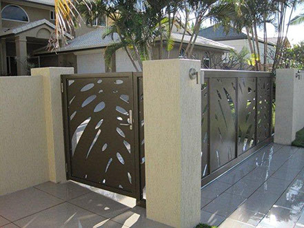 Aluminium Sliding Gate Panel Art 10