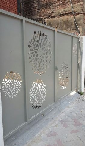Aluminium Sliding Gate Panel Art 5